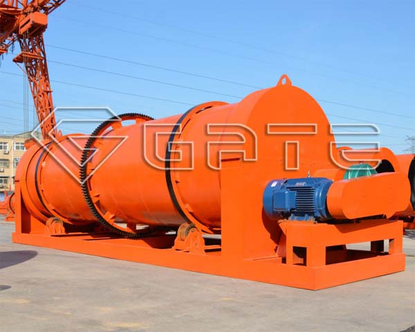 rotary drum dryer manufacture