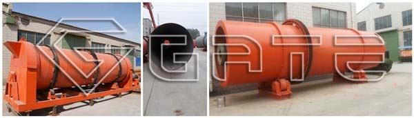 rotary drum dryer factory