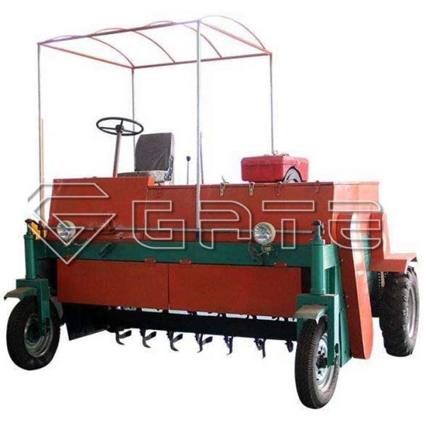 Wheel Type Tractor Compost Turner For Sale