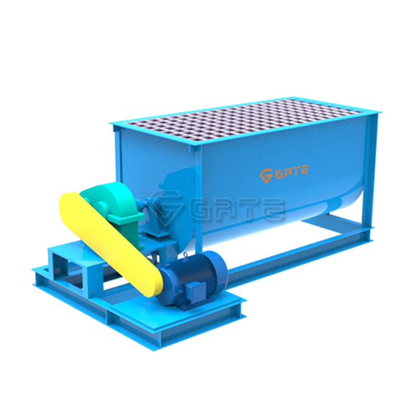 Factory price single shaft mixer machine