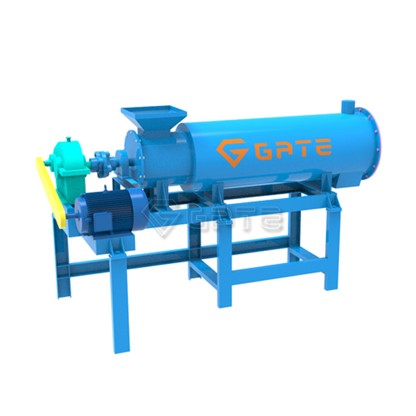 Animal Manure Organic Fertilizer Mixing Granulator