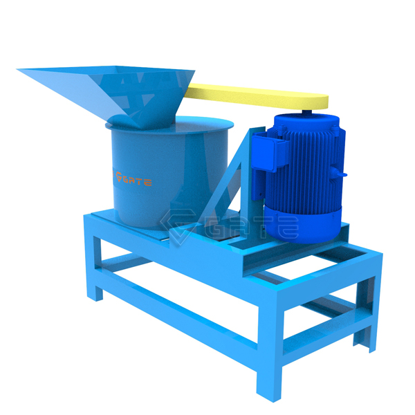 Vertical crusher for fertilizer production line