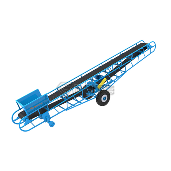 Factory Supply Belt Conveyor for Fertilizer Production Equipment