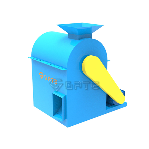 Semi wet material crusher for fertilizer production line