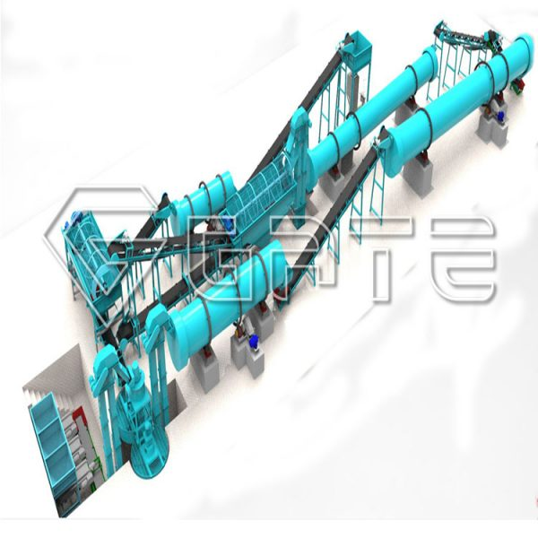 Hot Sale Chemical Fertilizer Production Line Price Manufacturer