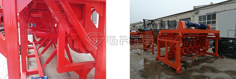 Groove type compost turner manufacturer