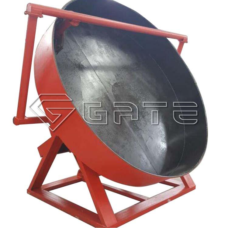 Inorganic fertilizer disc granulator