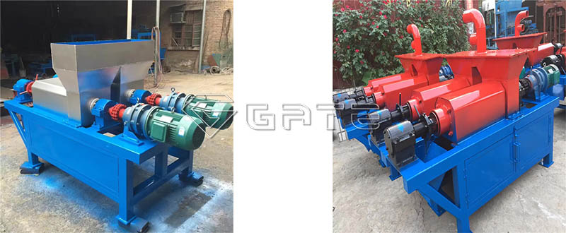 animal manure Solid-liquid separator