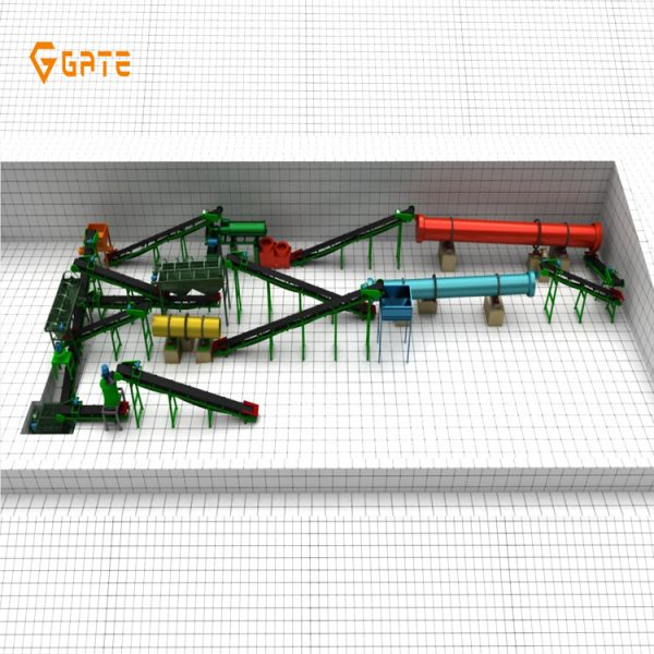 Bio Organic Fertilizer Production Line Manfacturer