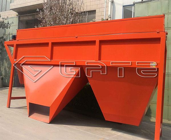 factory supply rotary screening machine hot sale