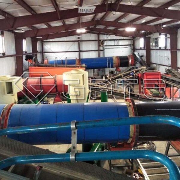 Successful building humic acid organic npk fertilizer production line in canada