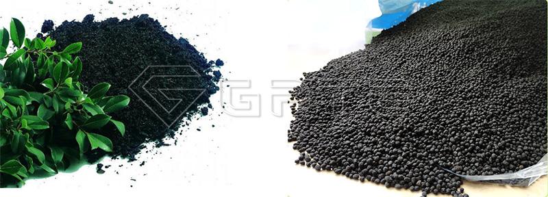 Fertilizer Granules from Fertilizer Granulator