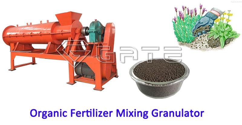 Organic Fertilizer Mixing Granulator