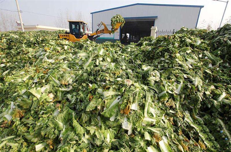organic fertilizer waste compost turner machine