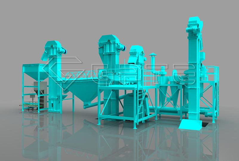 Compound Fertilizer Plant Line Process