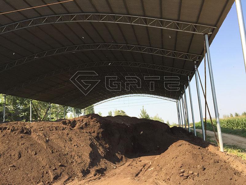 fertilizer compost windrow turner for sale
