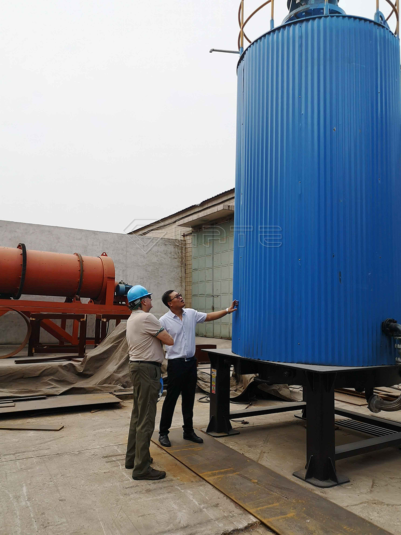 Fermentation tank for fertilizer