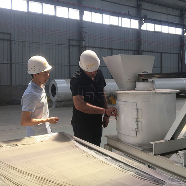 High yield granulator machine for fertilizer Praised by Canadian customer
