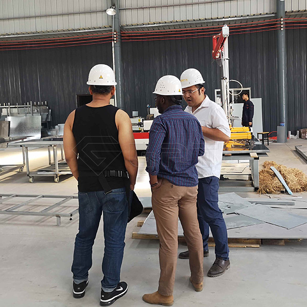 The disk fertilizer granulator ordered by myanmar customers was delivered smoothly