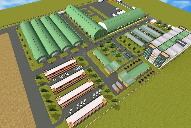 Dry Type NPK Fertilizer Plant Line