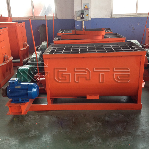 Organic fertilizer horizontal mixer price