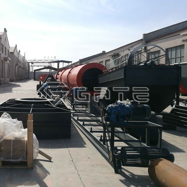 The disk fertilizer granulator ordered by myanmar customers was delivered smoothly Manfacturer
