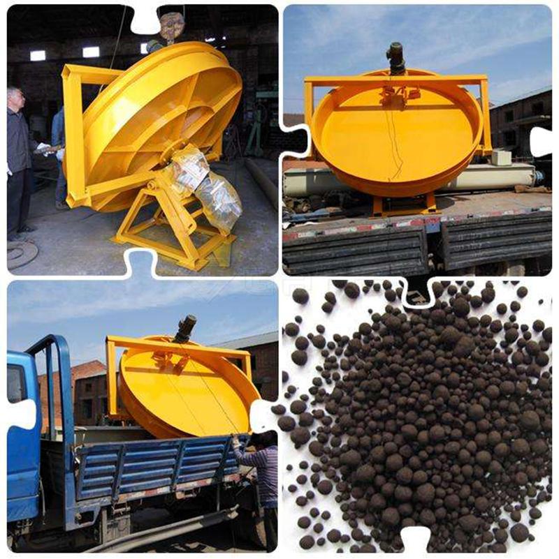 Organic fertilizer disc granulator