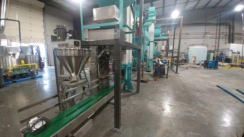 double roller extrusion granulator machine