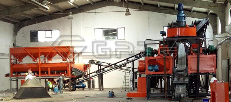 double roller granulator fertilizer using