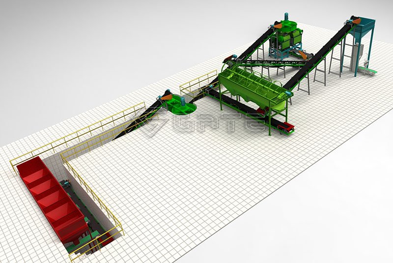 fertilizer roller granualtor machine