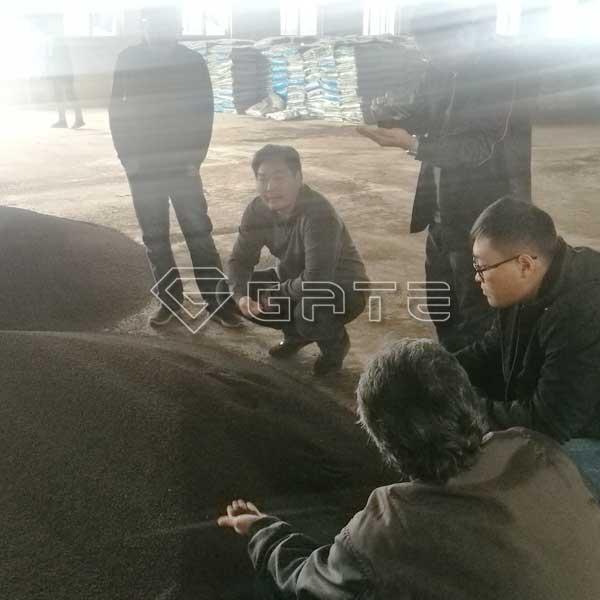 Ammonium sulphate production line for Thailand