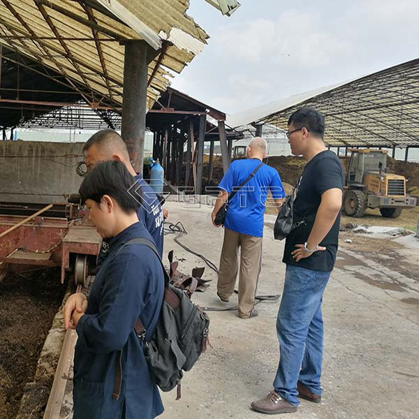 High Technology Organic Fertilizer Plant Design for Thailand Customer