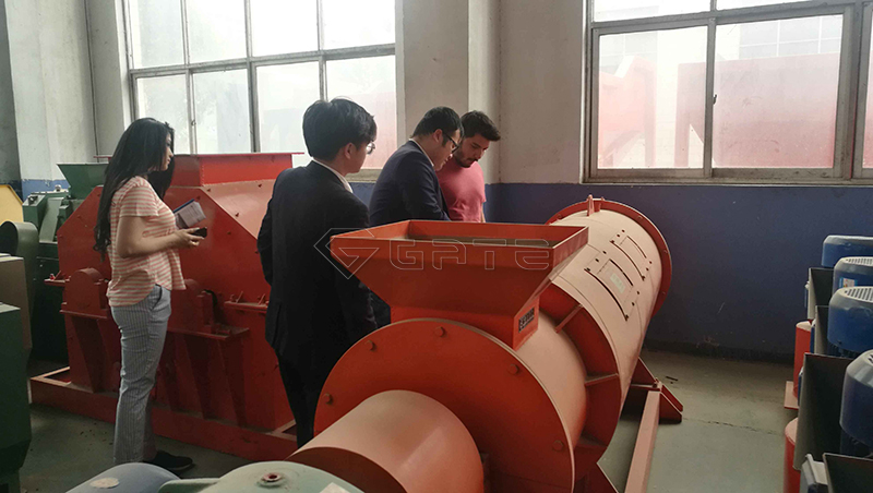 stirring tooth pelletizer machine for fertilizer