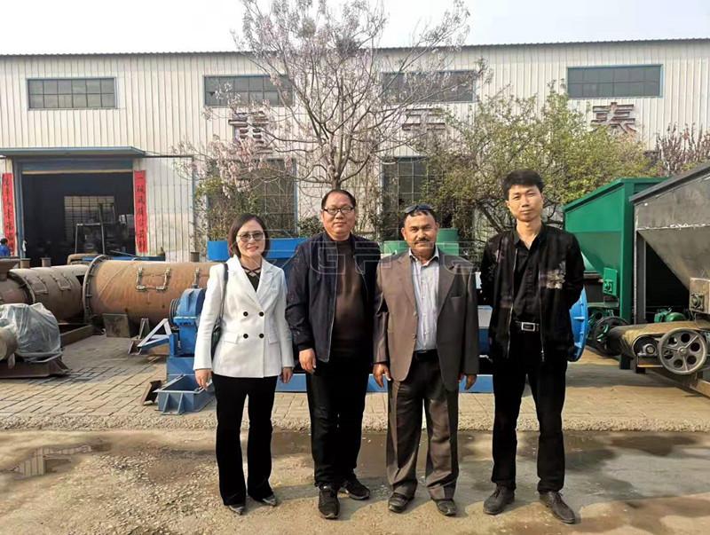 fertilizer granulation production line
