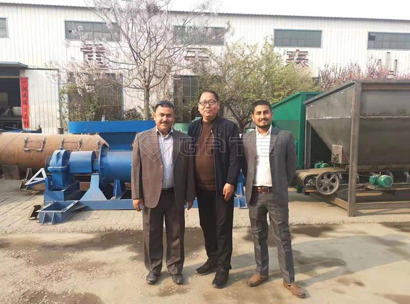 fertilizer production equipment