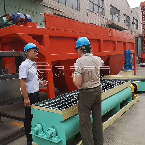 Australian Clients Purchased Disc Granulator from GATE Fertilizer Machinery Company