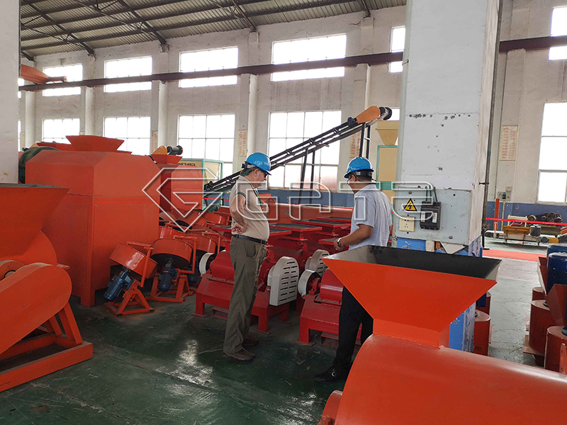 fertilizer disc granulator