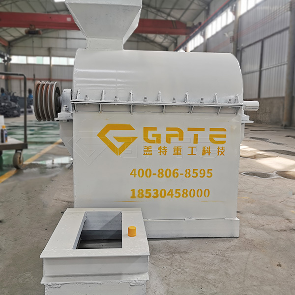 Production site of Semi Wet Material Crusher for Organic Fertilizer manufacturer for Indian customers
