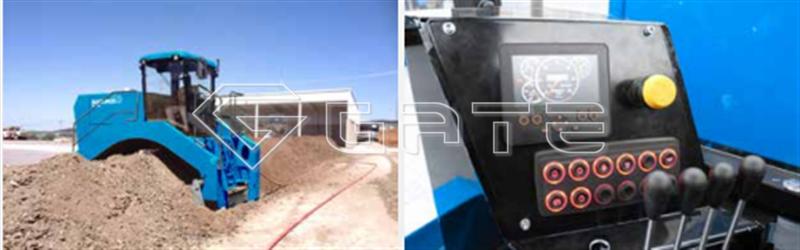 Fertilizer composting machine