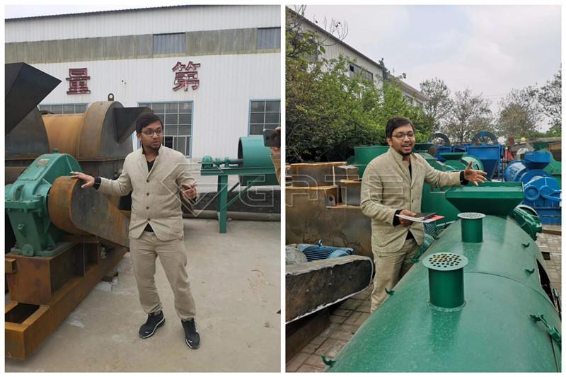 new type organic fertilizer granulator machine for sale