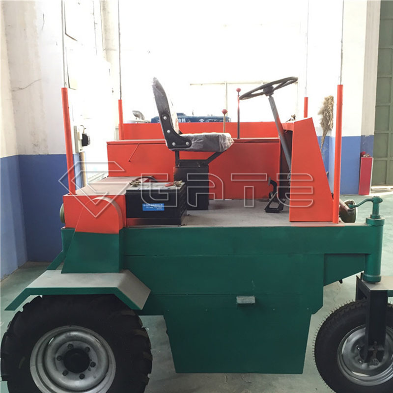 GATE Wheel Type Tractor Compost Turner for fertilizer