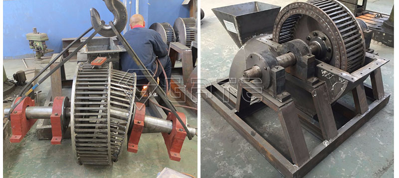 fertilizer cage mill crushers for Indian customers