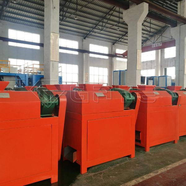 10 Sets of NPK Fertilizer Double Roller Granulator Delivery to Thailand