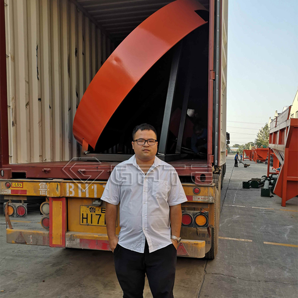 bio fertilizer disc granulators shipped for Indonesia's customer