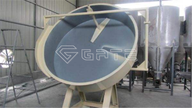The fertilizer disc granulator