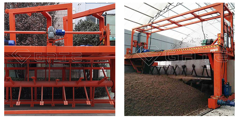 Organic Fertilizer Groove Type Compost Turner