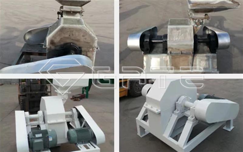Urea crusher for fertilizer industry