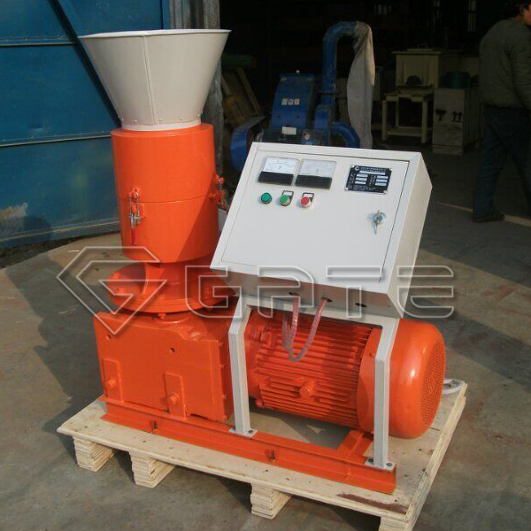 2019 New design organic fertilizer flat film granulator machine