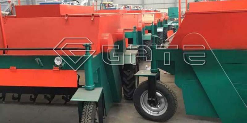 industrial compost turner for organic fertilizer