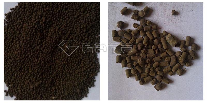 organic fertilizer in chicken manure organic fertilizer production line